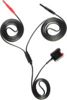Measure lead TP-C812C: low noise differential banana to banana measuring lead, 2m