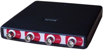 HandyscopeHS4 DIFF: 4 channel USB oscilloscope with differential inputs