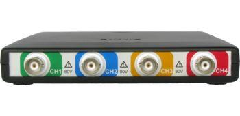 HandyscopeHS6 DIFF: 4-kanaals hoge resolutie USB-oscilloscoop met differentiële ingangen