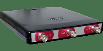 HandyscopeHS3: 2 channel USB oscilloscope with Arbitrary Waveform Generator