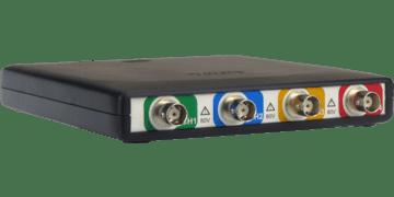 HandyscopeHS6: 4-kanaals hoge resolutie USB3-oscilloscoop