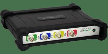 WiFiScope WS6: 4 channel high precision WiFi oscilloscope