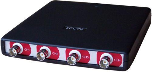 HandyscopeHS4 DIFF: 4-kanaals USB-oscilloscoop met differentiële ingangen