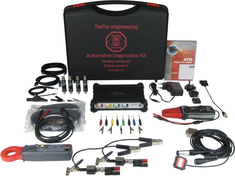 TiePie Automotive Diagnostics Kit with WiFiScope