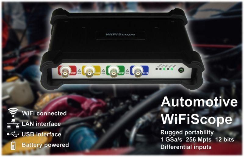 TiePie Differential Automotive WiFiScope