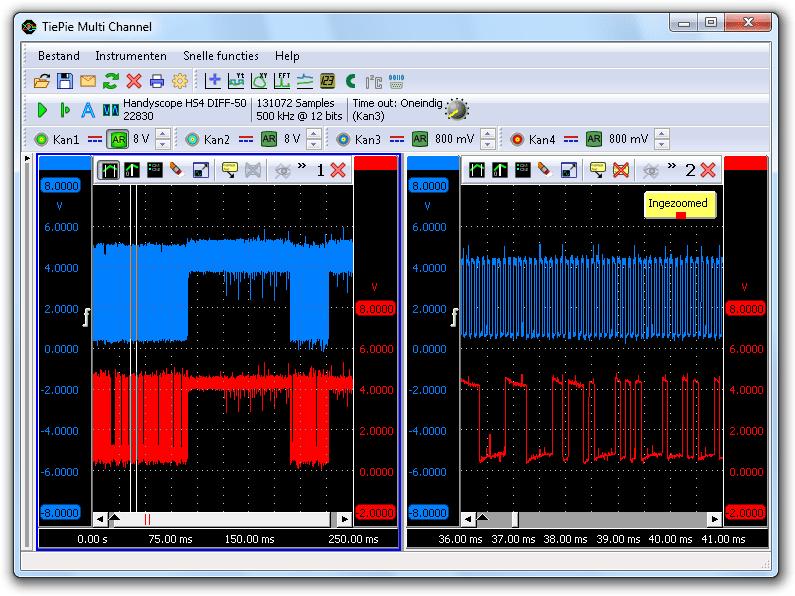 Smerige I²C-signalen