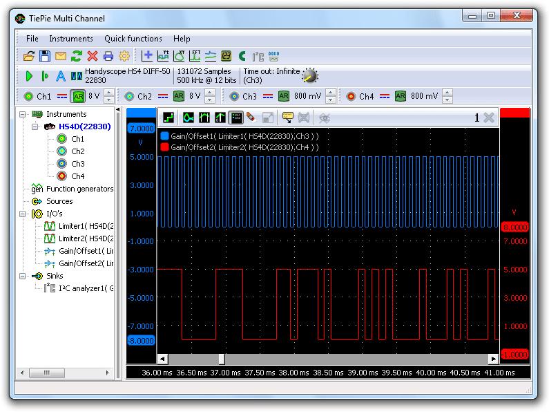 Correct I²C signals