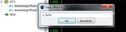Enter offset