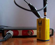 Measuring a battery voltage