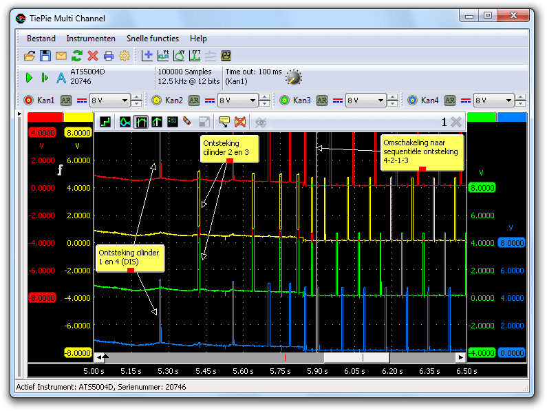 Overschakelen van DIS-ontsteking naar sequentiële ontsteking
