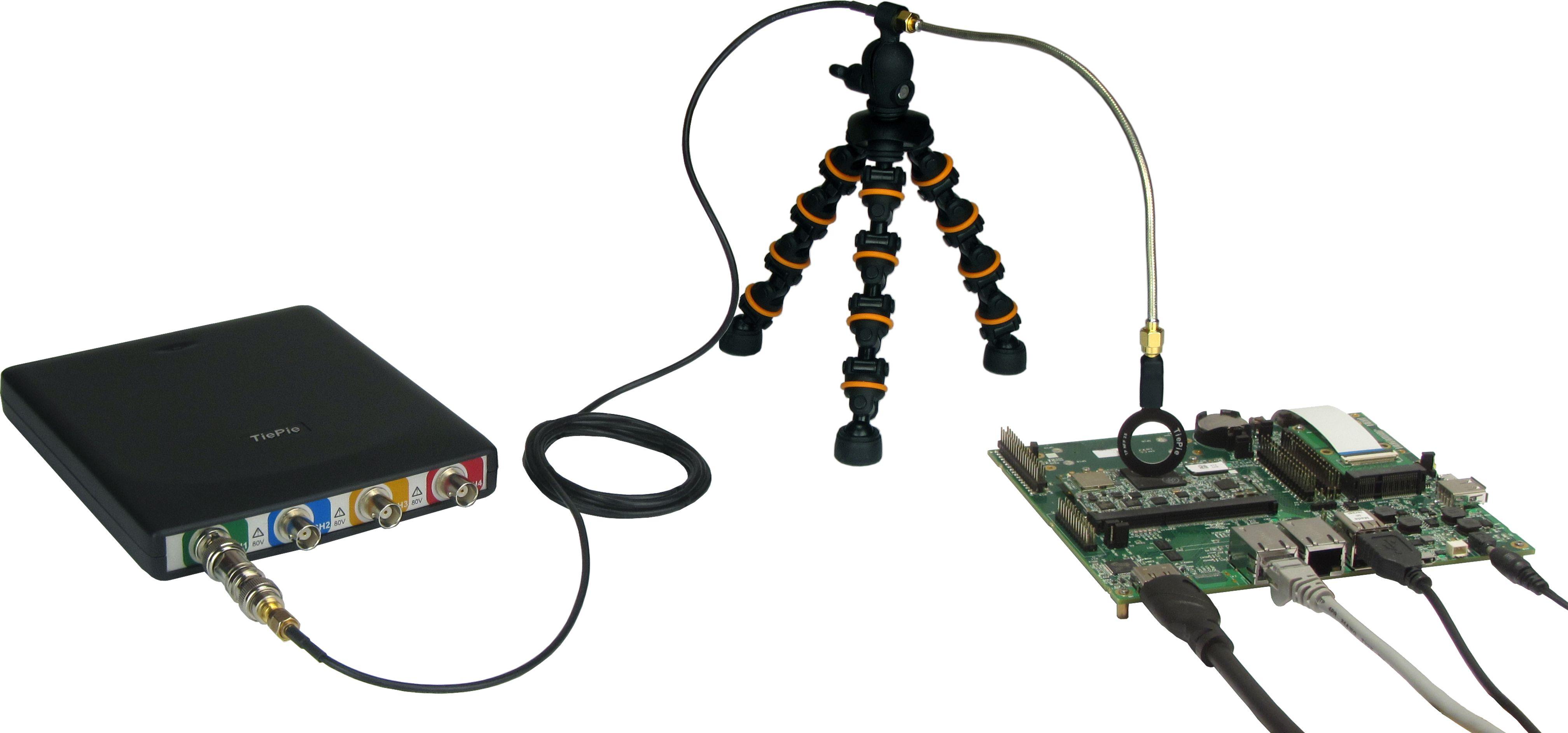 HandyscopeHS6 EMI setup