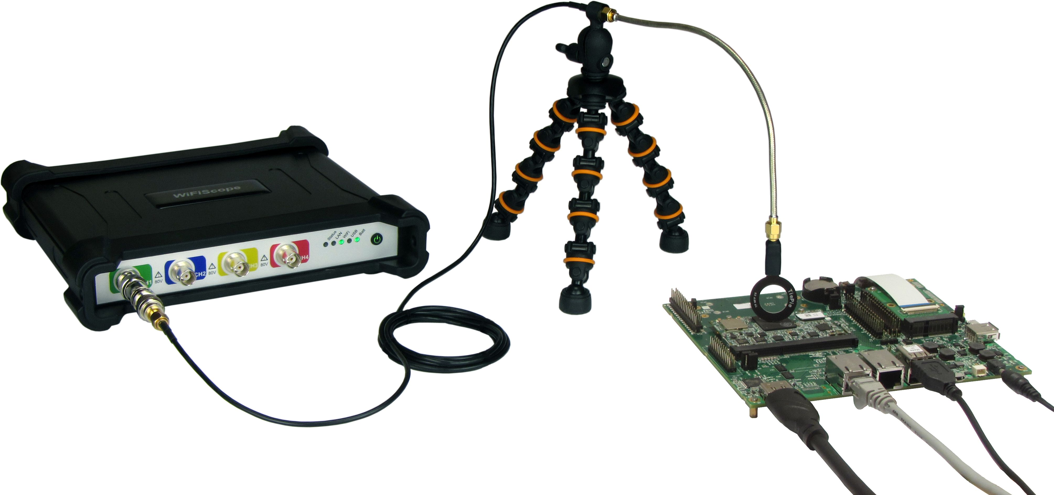 WiFiScope WS6 EMI setup