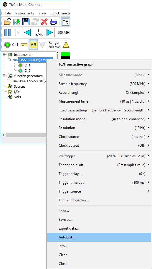 AutoDisk popup