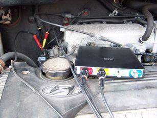 Measuring a working crankshaft sensor
